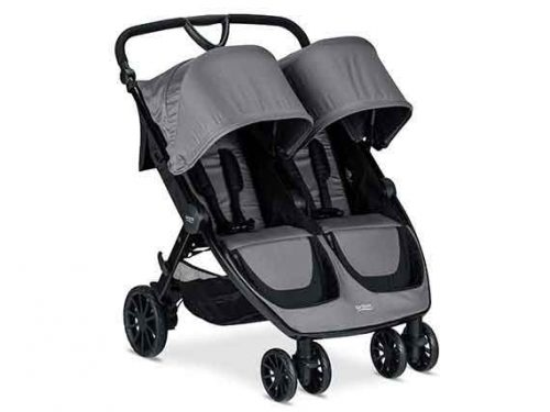 Britax-b-lively double stroller