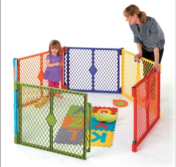 Baby playtime, Play Yard Fence